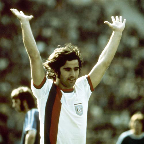 Football Test answer: GERD MULLER