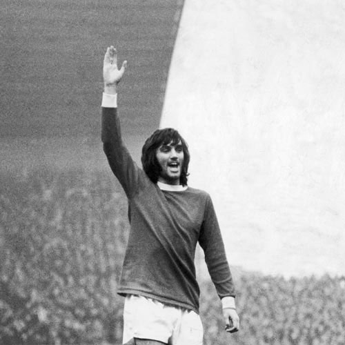 Football Test answer: GEORGE BEST