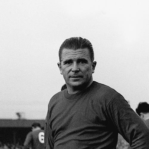 Football Test answer: FERENC PUSKAS