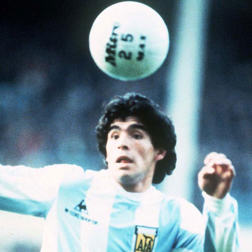 Football Test answer: MARADONA