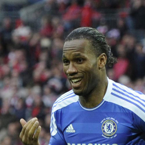 Football Test answer: DIDIER DROGBA