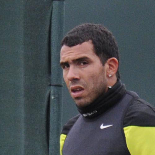 Football Test answer: CARLOS TEVEZ