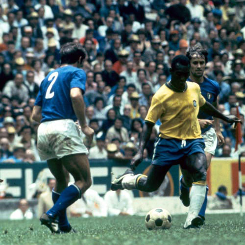 Football Test answer: BRAZIL V ITALY