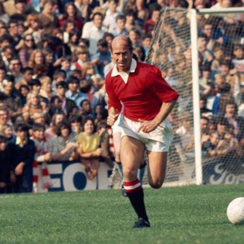 Football Test answer: BOBBY CHARLTON