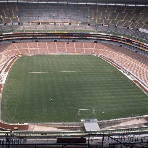 Football Test answer: AZTECA STADIUM