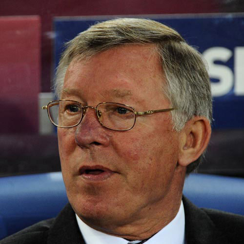 Football Test answer: ALEX FERGUSON