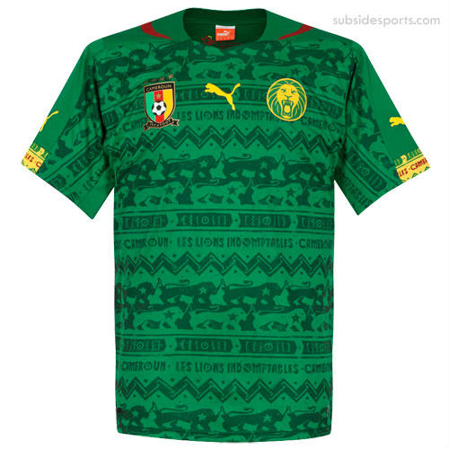 Football World answer: CAMEROON