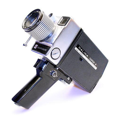 Gadgets answer: 8MM CAMERA