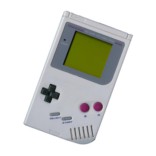 Gadgets answer: GAME BOY