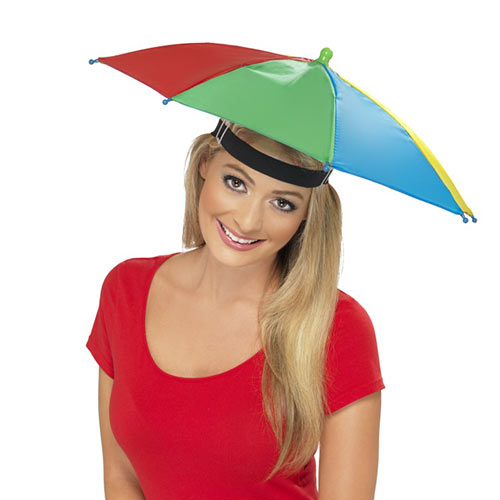 Gadgets answer: UMBRELLA HAT