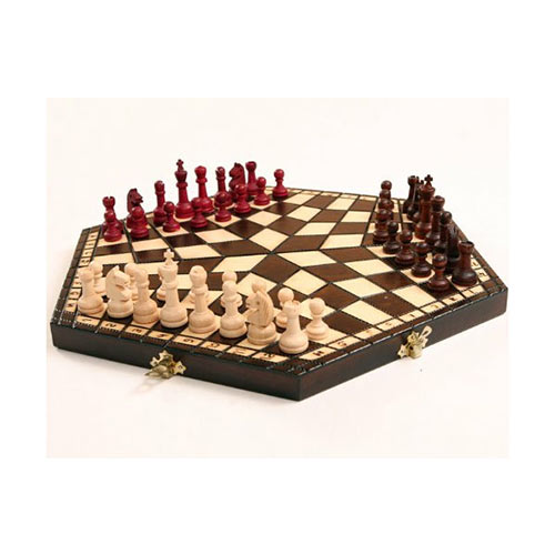 Gadgets answer: 3 PLAYER CHESS