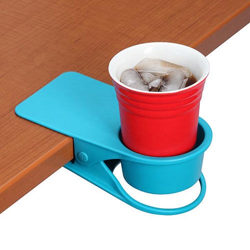 Gadgets answer: DESK CUP HOLDER