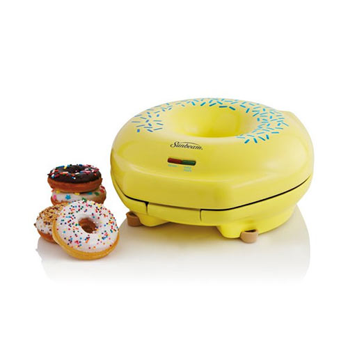 Gadgets answer: DOUGHNUT MAKER