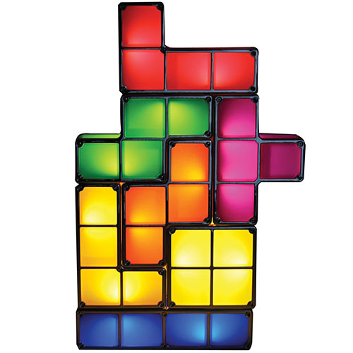 Gadgets answer: TETRIS LIGHT