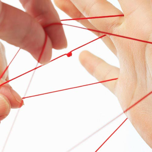 Games answer: CATS CRADLE