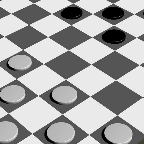 Games answer: DRAUGHTS