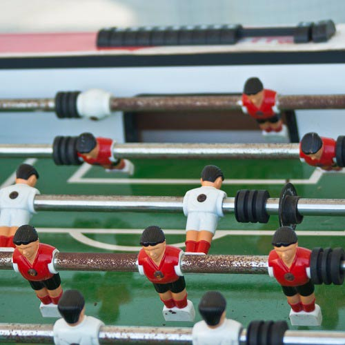 Games answer: FOOSBALL