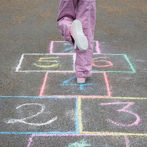 Games answer: HOPSCOTCH