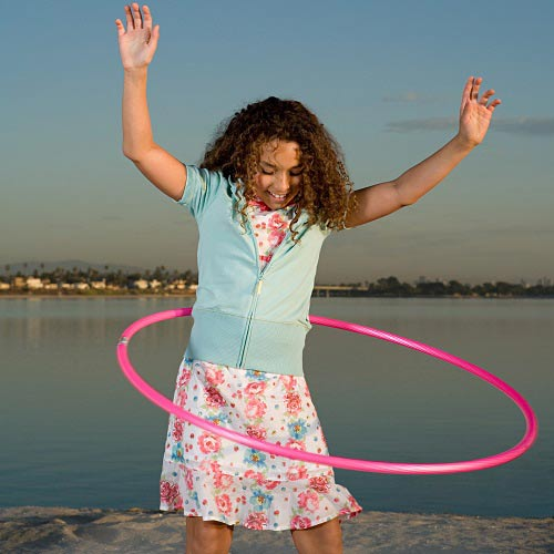 Games answer: HULA HOOP