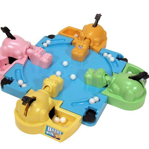 Games answer: HUNGRY HIPPOS