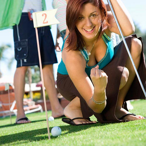 Games answer: MINI GOLF