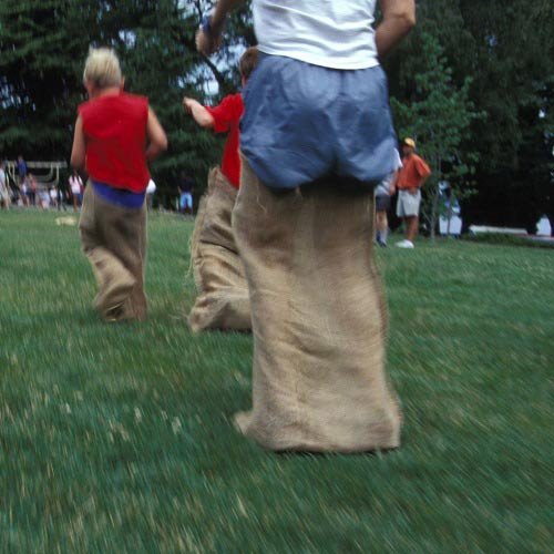 Games answer: SACK RACE