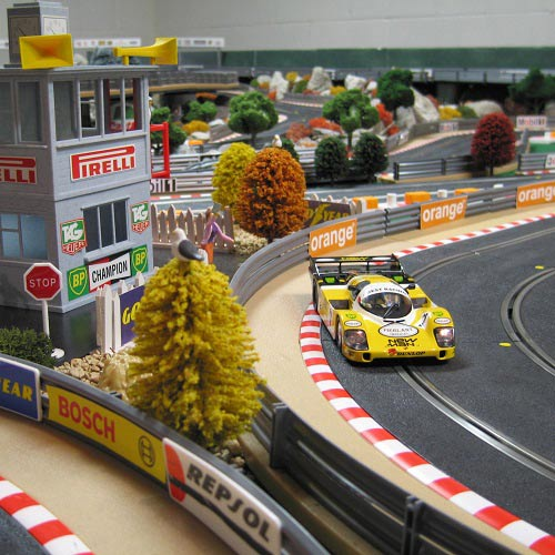 Games answer: SLOT CAR RACING