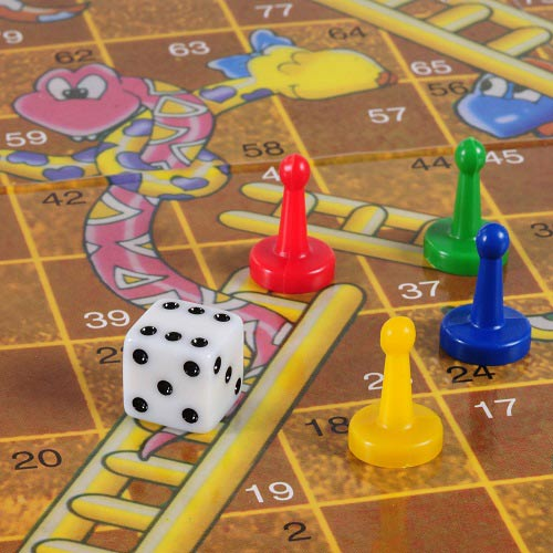 Games answer: SNAKES & LADDERS