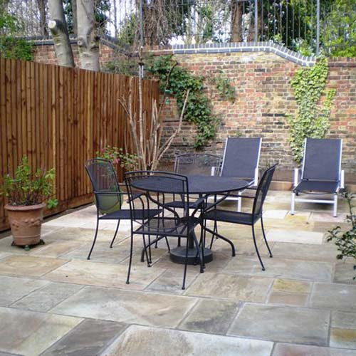Gardening answer: PATIO