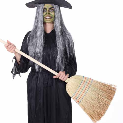 Halloween answer: BROOM