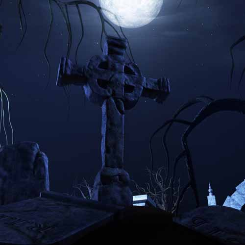 Halloween answer: CEMETERY