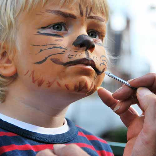 Halloween answer: FACE PAINT