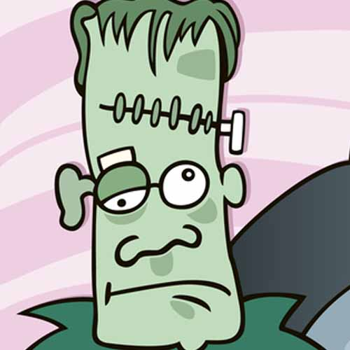 Halloween answer: FRANKENSTEIN