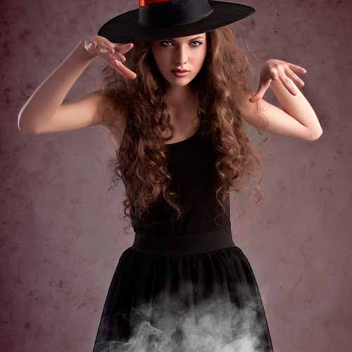 Halloween answer: WITCH
