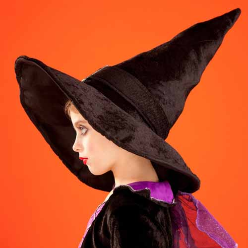 Halloween answer: WITCH HAT