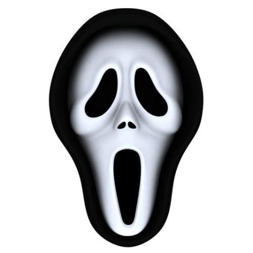 Halloween answer: SCREAM MASK