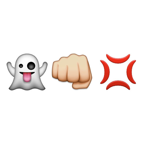 Halloween Emoji answer: GHOSTBUSTERS