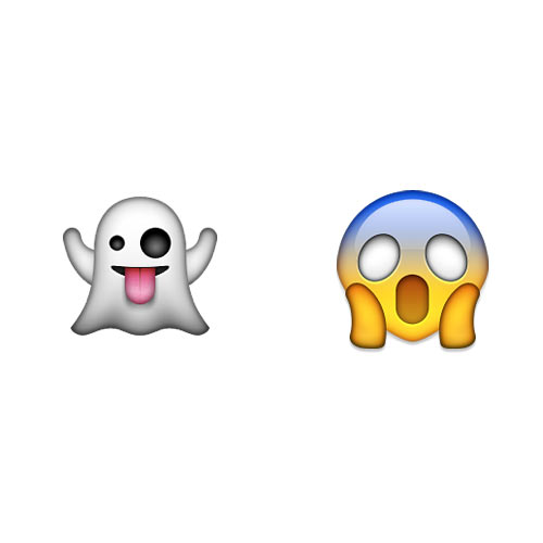 Halloween Emoji answer: GHOSTFACE