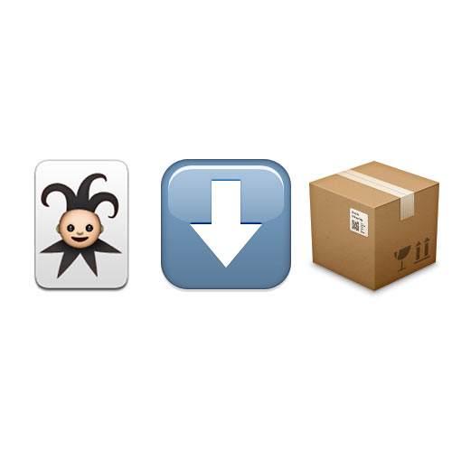Halloween Emoji answer: JACK IN THE BOX