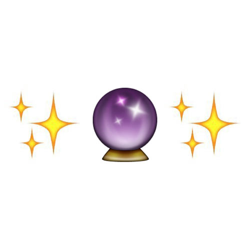 Halloween Emoji answer: MAGIC