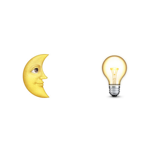 Halloween Emoji answer: MOONLIGHT