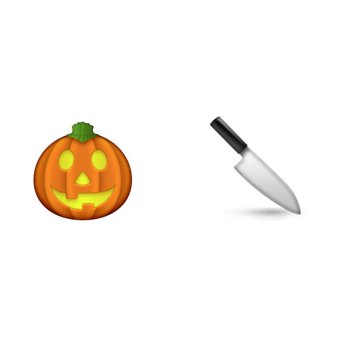 Halloween Emoji answer: PUMPKIN CARVING