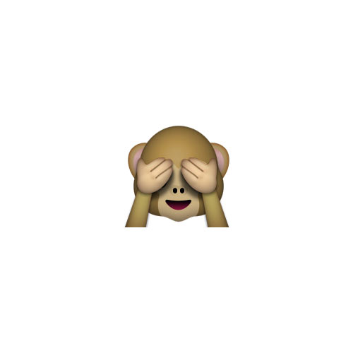 Halloween Emoji answer: SEE-NO-EVIL