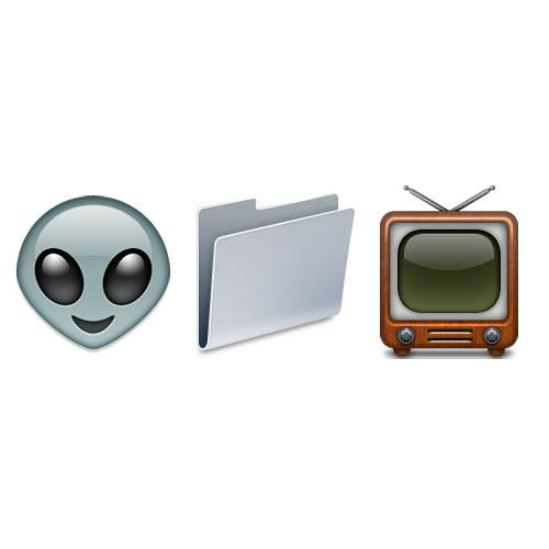 Halloween Emoji answer: X-FILES