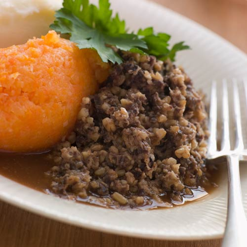 H is for... answer: HAGGIS