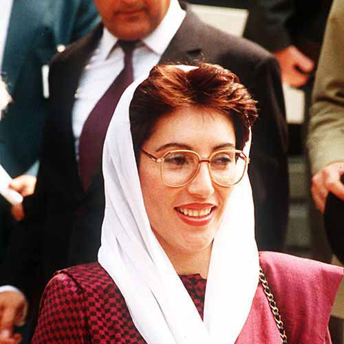 History answer: BENAZIR BHUTTO