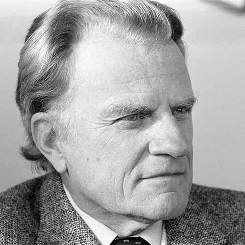 History answer: BILLY GRAHAM