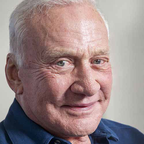 History answer: BUZZ ALDRIN