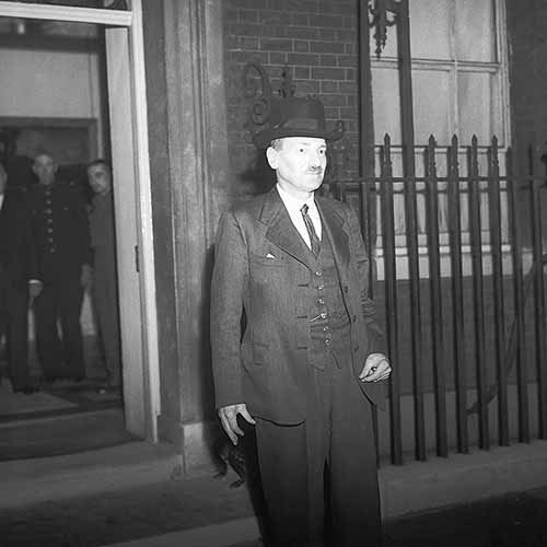 History answer: CLEMENT ATTLEE
