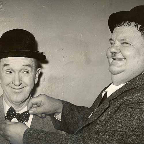 History answer: LAUREL & HARDY